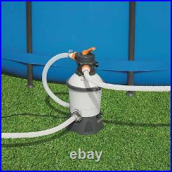 Bestway Durable Flowclear 1500 Gallon Sand Filter for Swimming Pools (Open Box)