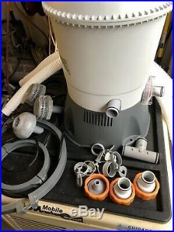 Bestway Flowclear 530 GPH Silica & Sand Pool Filter Pump, 58516e