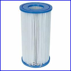 Bestway Pool Filter Pump Cartridge Type-III (6 Pack) + Pool Filter Pump System