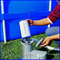 Bestway Pool Filter Pump Replacement Cartridge (2 Pack) + Pool Filter Pump