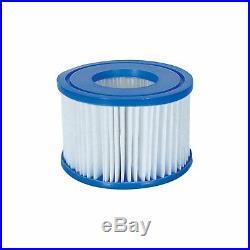 Bestway Spa Filter Pump Replacement Cartridge Type VI SaluSpa Hot Tub (6 Pack)