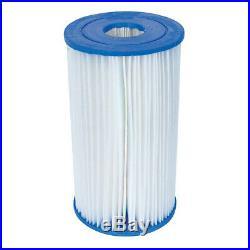 Bestway Swimming Pool Filter Replacement Cartridge Type IV or Type B (4 Pack)