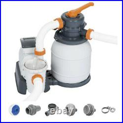 Bestway Swimming Pool Sand Filter System 1500 Gallon Pool Pump 58498E Newest
