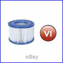 Coleman SaluSpa 90352E Pool Filter Pump Type VI Replacement Cartridge (12 Pack)