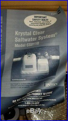 Crystal Clear Saltwater System Electrocatalytic Oxidation Swimming Pool Filter