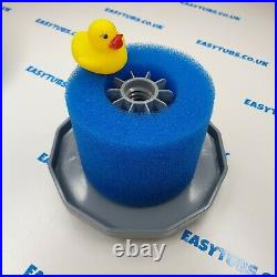 Easytubs Hot Tub Spa Filters Foam Lazy Filter Washable UK VI Fits Lay Z Spa