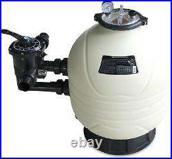 Filterbehälter Mega+ Side Mount inkl. 6-Wege-Ventil