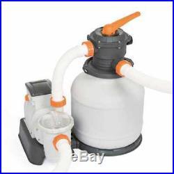 Filtro A Sabbia Pompa Piscina Bestway 58499 7571 L/H Con Valvola E Manometro