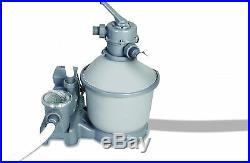 Filtro a Sabbia Bestway Flowclear 3785 L/h 58400 Valvola 6 Vie Manometro Tubi