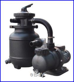 FlowXtreme 25 lbs Sand Filter System for AG Pools Pump 1/3HP and 1850GPH