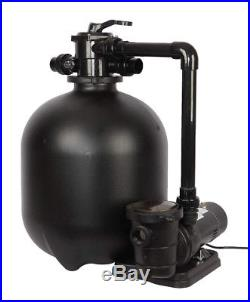 FlowXtreme 300 lb Sand Filter System for In-Ground Pools 2HP 2 Speed Pump 230V
