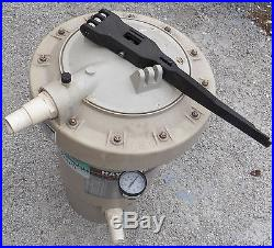 Hayward Ec 40 Ec40 Pool Filter Perflex Series D E Diatomaceous Earth