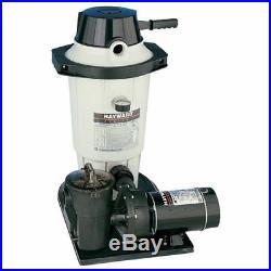 Hayward 1.5 HP EC50C93S 25 sq ft Perflex D. E. Filter System & Pump Combo