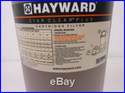 Hayward C900 Star-Clear Plus 90-Sq Foot 1-1/2-Inch Pipe Cartridge Pool Filter