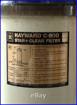 Hayward C-800 StarClear Pool Filter
