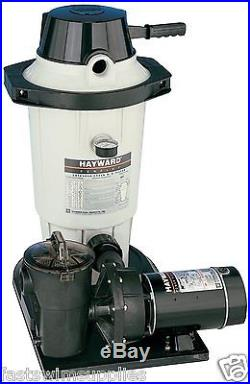 Hayward EC40C80S Perflex Above Ground Pool EC40 DE Filter System with 1hp Pump