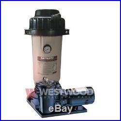 Hayward EC45/50AC Perflex 1.5 HP Pump Above Ground DE Filter System
