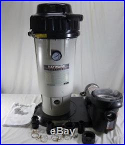 Hayward EC50C93S Perflex Extended-Cycled 1.5 HP D. E. Pool Filter System