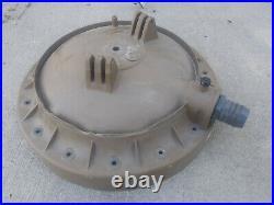 Hayward EC-65 DE pool filter top/lid, brown