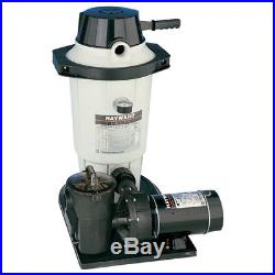 Hayward Perflex Above Ground DE Swimming Pool Filter & Pump System EC50C93S