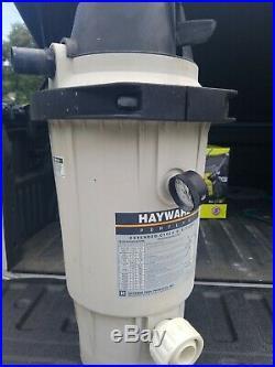 Hayward Perflex EC40AC Above Ground DE Swimming Pool Filter EC40. & valves