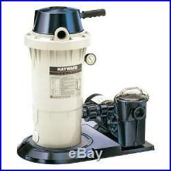 Hayward Perflex Extended-Cycle 40 GPM DE Filter Pool Pump System (Open Box)