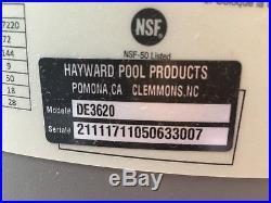 Hayward Pro-Grid DE3620 Inground Swimming Pool Filter