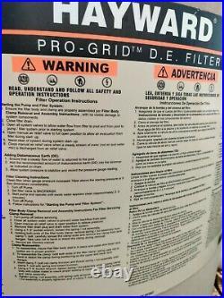 Hayward Pro-Grid D. E. Sand Filter DE 2420
