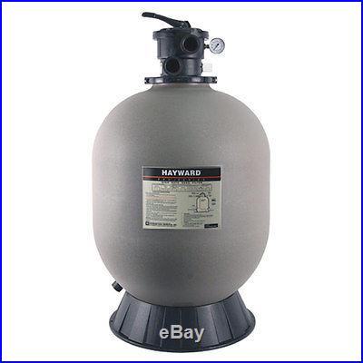 Hayward Pro Series 24 S244T Inground Swimming Pool Sand Filter w/ SP0714T Valve