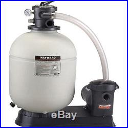 Hayward Pro-Series S180T92S Above Ground Swimming Pool Filter System with1 HP Pump