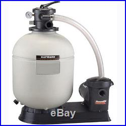 Hayward S180T92S Above Ground Swimming Pool Sand Filter with1 HP Pump & S180T