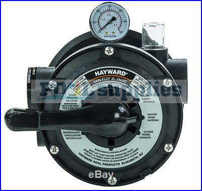 Hayward S180T Pro-Series Above Ground Swimming Pool Sand Filter & SP0714T Valve