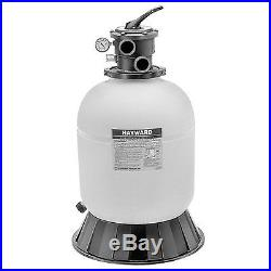 Hayward S210T Pro Series 21-Inch Top-Mount Pool Sand Filter Flange Clamp Design