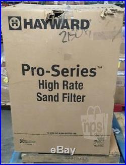 hayward pro series sand filter manual