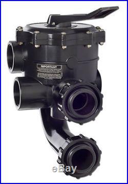 Hayward SP0715XR50 Pro 2 FIP Side-Mount Vari-Flo XL D. E. Filter Control Valve