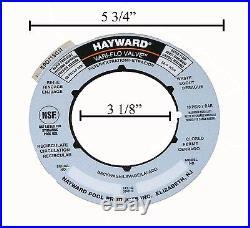 Hayward Sand Filter Valve Label Plate Sticker SPX0715G