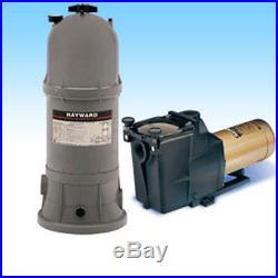 Hayward Star Clear Plus C17502 Inground Swimming Pool Cartridge Filter System