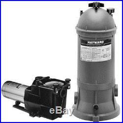 Hayward Star-Clear Plus C751 Inground Swimming Pool Cartridge Filter Pump System