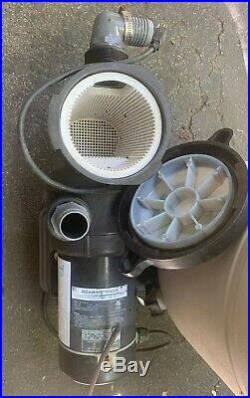 Hayward Swimming Pool Sand Filter #S166T And Tidal Wave 1HP Pump Read Descript