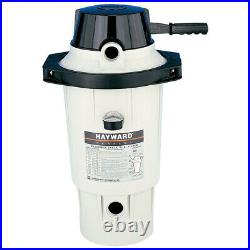 Hayward W3EC50AC Perflex D. E. Swimming Pool Filter With Clamp Extended Cycle DE