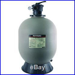 Hayward W3S244T2 Swimming Pool Sand Filter, 24 Inch, Tan Top Mount With Valve