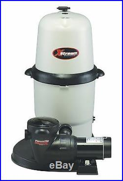 Hayward XStream CC10092S Above Ground Swimming Pool Cartridge Filter with Pump