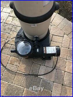 Hayward XStream Extreme Swimming Pool Pump Cartridge Filter System