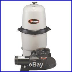 Hayward XStream Swimming Pool Cartridge Filter 1.5 HP Pump System CC15093S