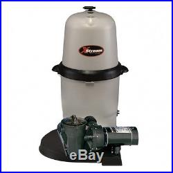 Hayward Xstream 1.5 HP CC15080X5S Pool Cartridge Filter System COMPLETE PACKAGE
