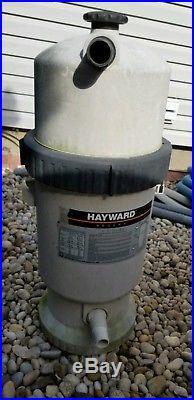 Hayward regenx DE pool filter fully operational