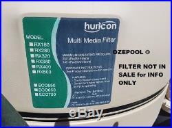 Hurlcon Astral Pool Filter MPV Multi Port Valve complete 50MM NB GENUINE 76033