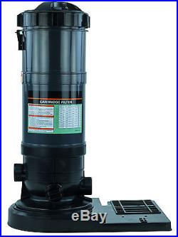 HydroMatic PRC120 120 Sq. Ft. Above Ground Swimming Pool Cartridge Filter withBase