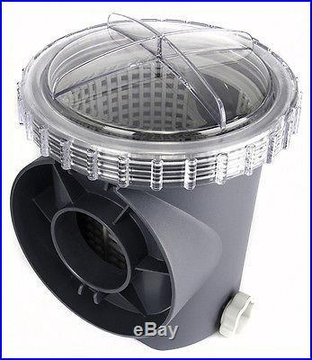 INTEX 1600 GPH Krystal Clear Sand Filter Pool Pump & Saltwater System