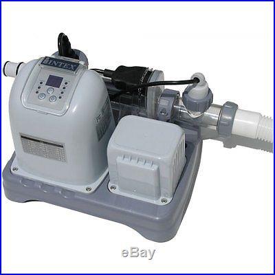 INTEX KRYSTAL CLEAR SALTWATER SYSTEM WITH GFCI MODEL CG54601